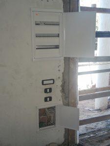 לוח חשמל תלת פאזי בסיום שיפוץ