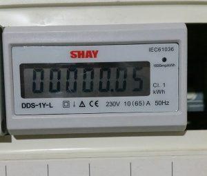מונה חשמל ללוח תלת פאזי