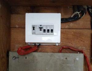לוח חשמל חד פאזי 3 מעגלים