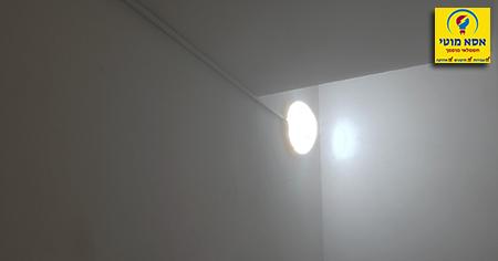 אור לא נכבה במדרגות