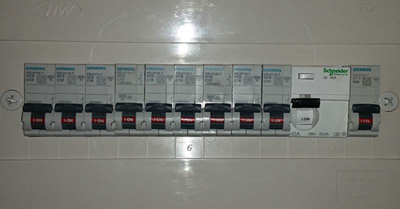 לוח חשמל ראשי